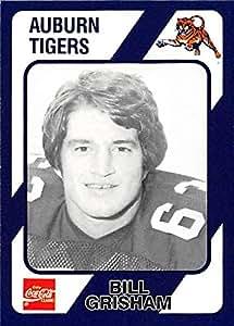 Bill Grisham football card (Auburn Tigers) 1989 Collegiate Collection Coca Cola #271 at Amazon's