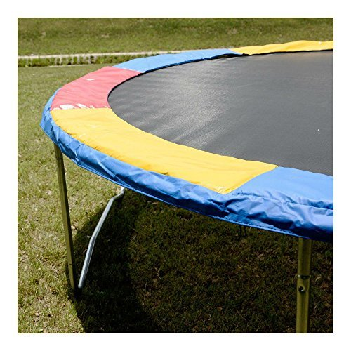 Multi Color 15 FT Trampoline Safety Pad EPE Foam Spring Cover Frame Replacement by Unknown