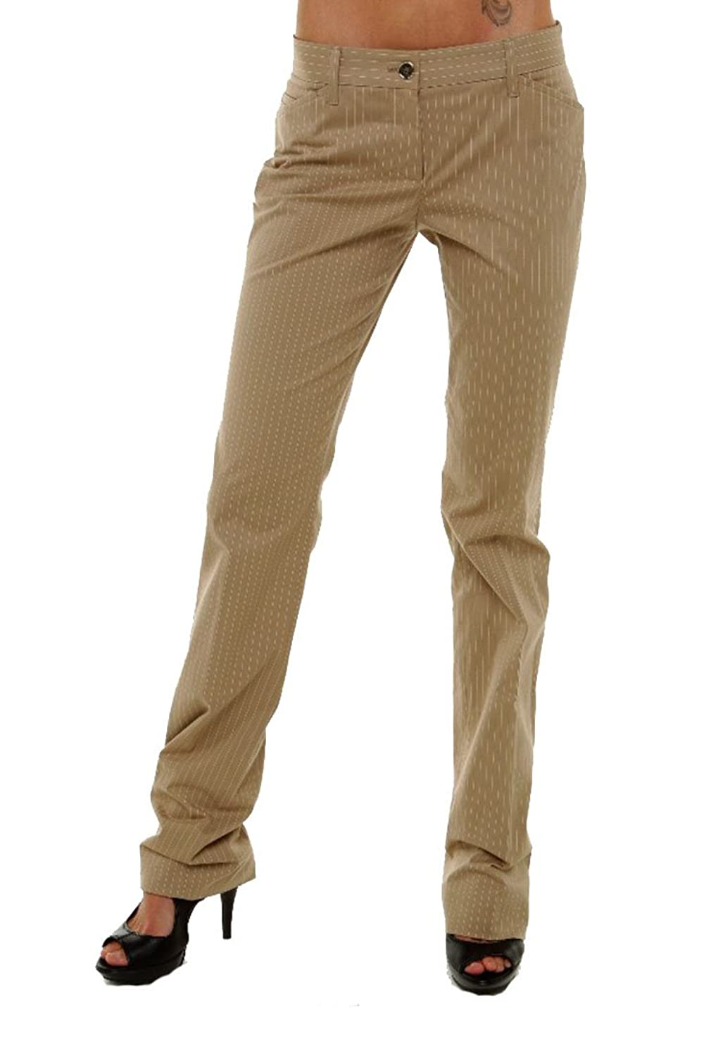 Dolce & Gabbana Womens Pants Trousers, 40, Beige
