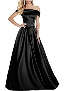 Lilyla Womens Long Off Shoulder Bridesmaid Dress Chic A Line Prom Dresses 2018