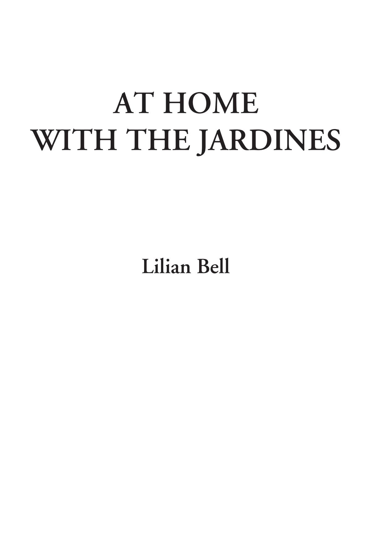 Download At Home with the Jardines ebook