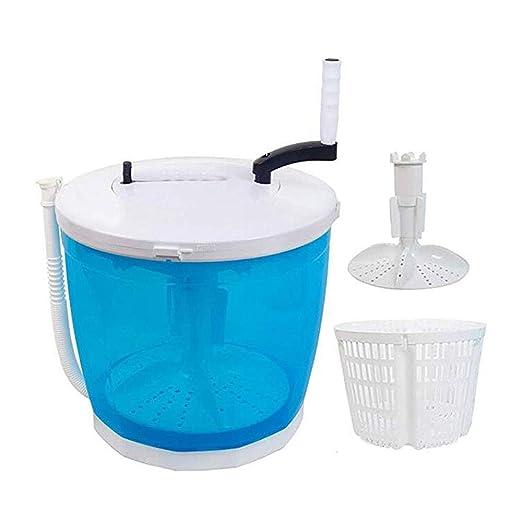 HRD Mini Lavadora Manual, secador silencioso de un Solo Barril ...