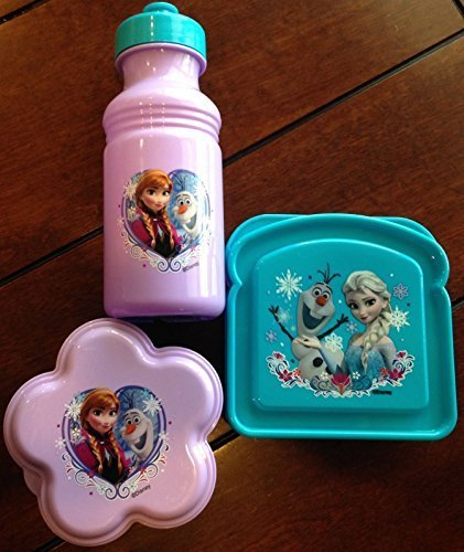 Disney's Frozen 3 Piece Lunch Set - Featuring Your Frozen Fa