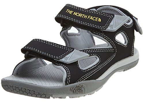 se Camp Coast Ridge Sandal Youth TNF Black/High Rise Grey 1 ()