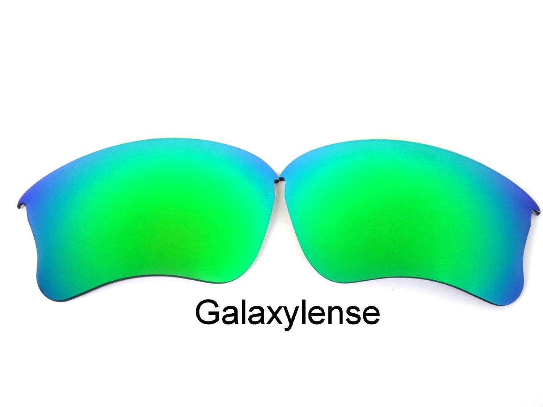 Galaxylense Ersatzgläser für Oakley Flak Jacket XLJ Smaragd Grün ...