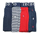 IZOD Mens Cotton Knit Boxers 4-pack (XXL)