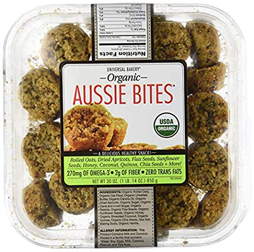 Universal Bakery Expect More Organic Aussie Bites, 32 count by evaxo (Image #1)