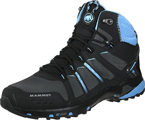 Mammut T Aenergy Mid GTX Women (Backpacking/Hiking Footwear) negro azul