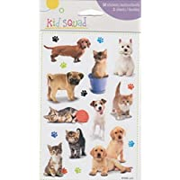 Dogs Puppies Cats Kittens Scrapbook Stickers (89806)