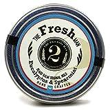 The Fresh Man Beard Balm - Spearmint and Eucalyptus - Essential Oil Scented Beard Conditioner Beard Balm by The 2Bits Man 2oz by The 2 Bits Man