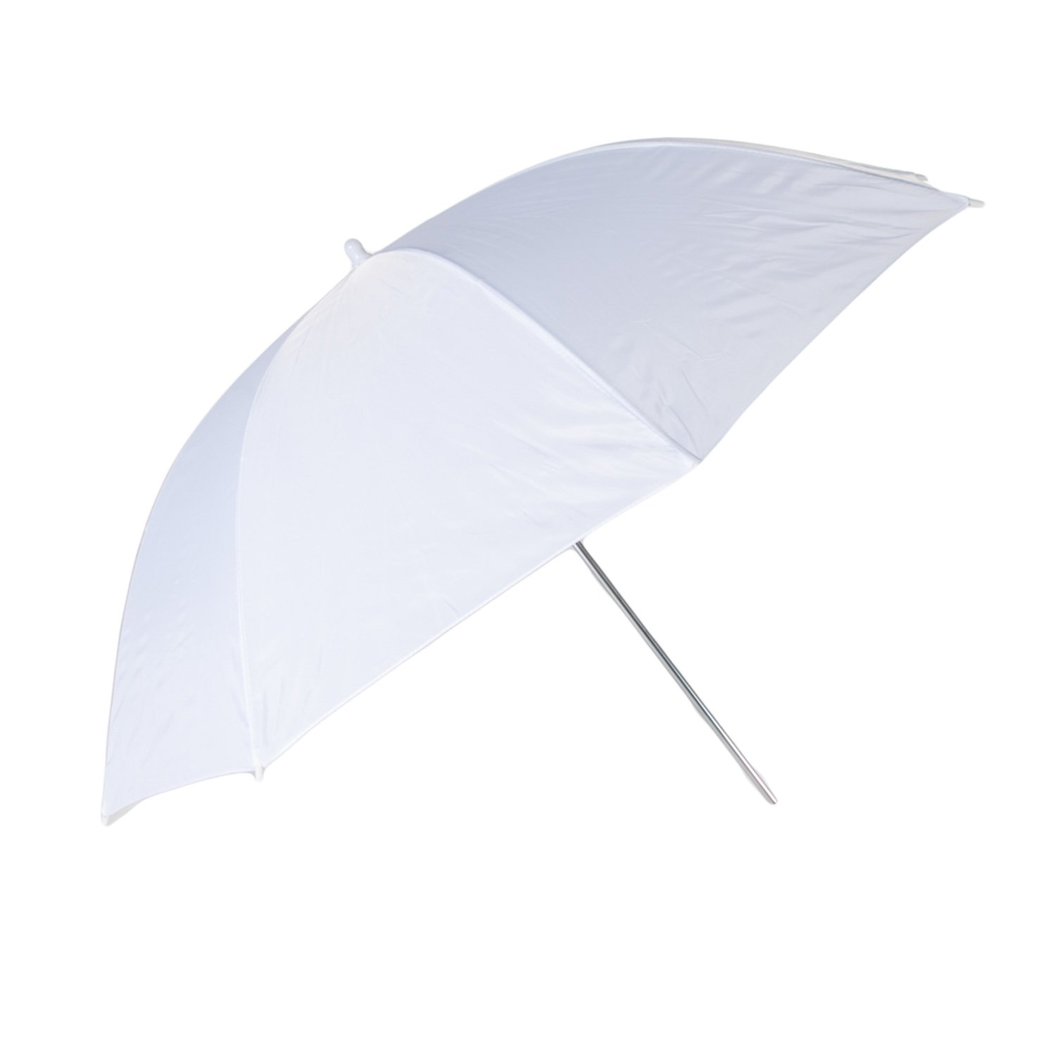 Fovitec - 1x 33 inch Translucent Photography & Video Reflector Umbrella - [Easy Set-up][Lightweight][Cast-Iron][Collapsible][Durable Nylon]