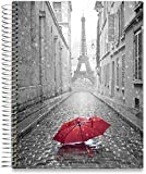 Tools4Wisdom 2019 Planner Weekly and Monthly - 8.5 x 11 Hardcover - 5 Planners in 1 : Daily Weekly Monthly Yearly Calendar (Large Dated Pages, 15 Tabs, 200 Planner Stickers, Oct 2018-Dec 2019)