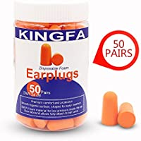 50 Pairs Ultra Soft Foam Earplugs Noise Reduction For...