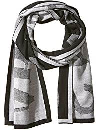 Armani Exchange Men's Woolblended Knit Scarf with Large Print
