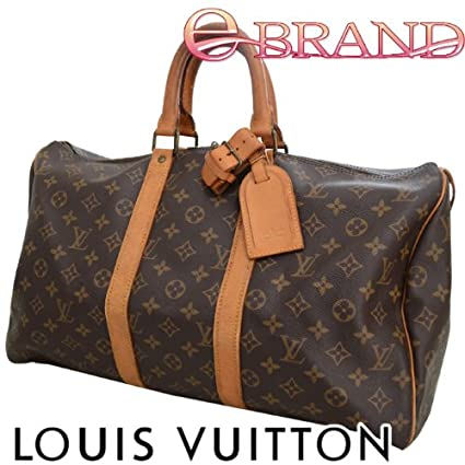 Amazon.com   Authentic Louis Vuitton monogram Keepall 45 travel boston luggage  bag M41428   Other Products   Everything Else 3e5900fe298ab