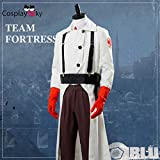 Team Fortress 2 Medic Suit Outfit Uniform Cosplay
