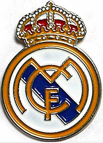Real Madrid Crest Pin Badge - Madrid Real Badge
