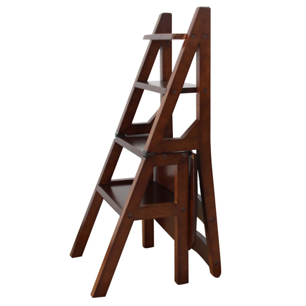 Amazon.com: Step Ladders WSSF- Folding Rubber Wood Staircase ...