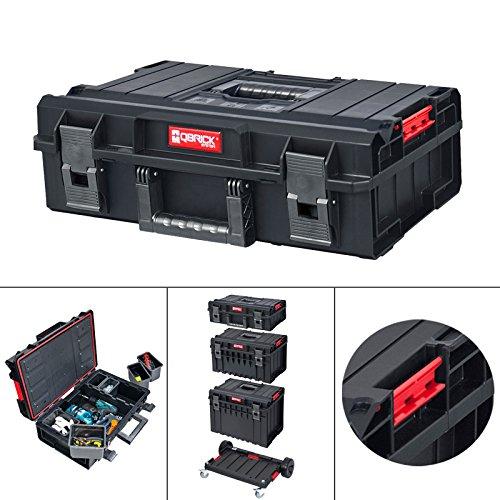 qbrick Basic 200/malet/ín Sistema de herramientas caja caja caja de herramientas caja organizadora 58/x 38/x 19/cm Caja de herramientas