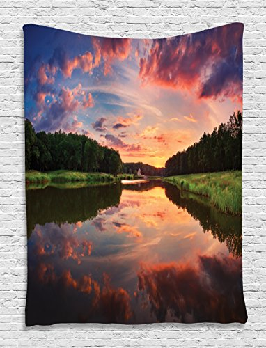 Landscape Tapestry Ambesonne Reflection Accessories
