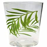 Corelle Coordinates Bamboo Leaf 14-Ounce Acrylic Glass, Set of 6