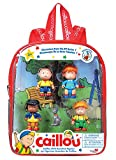 Caillou ID84505 Mini Backpack & Assorted Figures