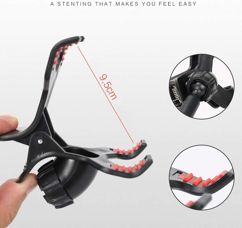 Size : B Mobile Phone Holder Lazy Watching TV Mobile Phone Bracket Universal Mobile Phone Stand Multi-Functional Dormitory Play Games 360 Degree Rotating