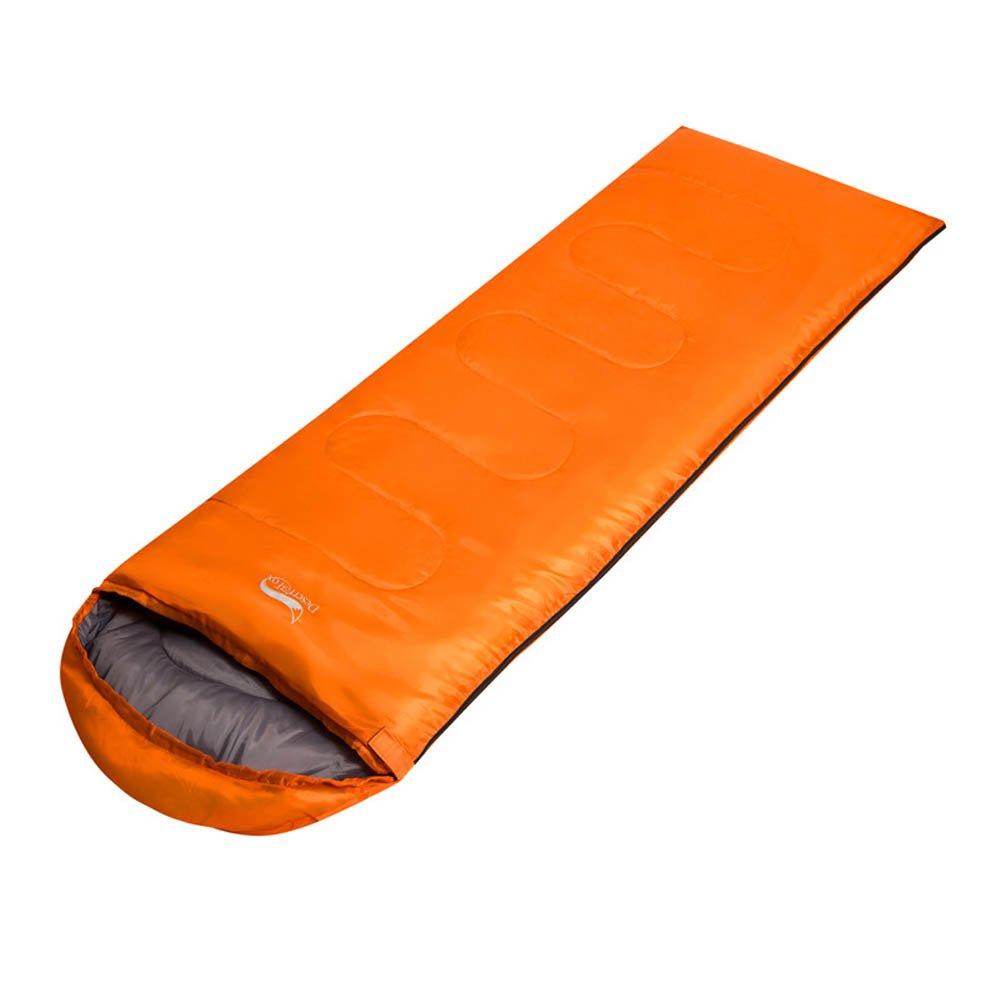 CHAGANA Saco de Dormir portátil Ligero Mesa para para Mesa Viaje Camping Senderismo Picnic Outdoor, Color Naranja, tamaño 225  75cm 5c76fb