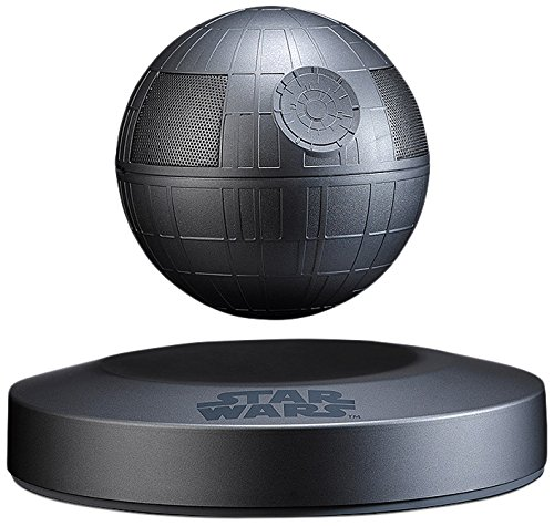 Price comparison product image Plox Official Star Wars Levitating Death Star Bluetooth Speaker