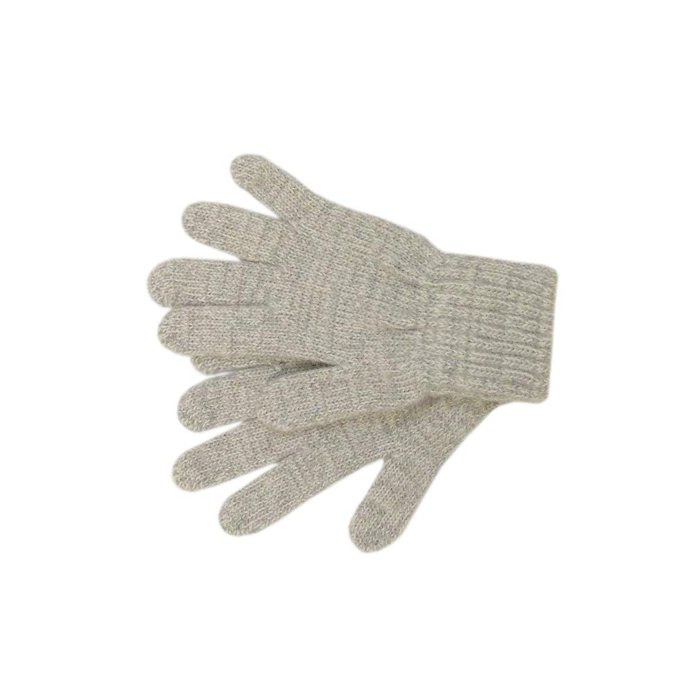 100% MERINO wool children GLOVES fingered mittens boy girl knitted