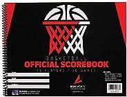 Score Right MSBSKBOK Gamecraft Basketball Scorebook