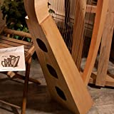 Roosebeck 22-String Heather Harp w/Full Chelby Levers