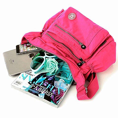 Shoulder Rose Ladies Cross Women Messenger Purse Bag Leisure Handbag Body Tote Bag xqfZ8BTwH