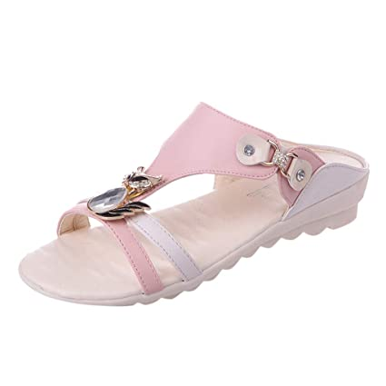 9db679fd80f Amazon.com: Clearance! Hot Sale! ❤ Sandals Female Summer Women's ...
