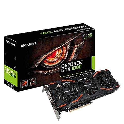Gigabyte Nvidia GTX 1080 GDDR5 8GB OC WF3 PCI-E