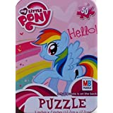Collectable Miniature Puzzle in a Tin ~ My Little Pony ~ 50 Piece by Hasbro