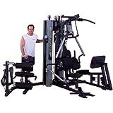 Body Solid G10B-LP Bi-Angular Gym with Leg Press Attachment