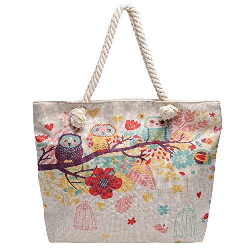 Hibiscus Drawstring Tote Bags - 8