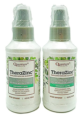 Quantum Health, TheraZinc Spray, 4 Ounce (Pack of 2)