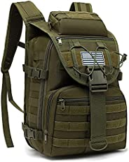 Military Tactical Backpack for Men, Survival Army Backpacks for Camping Hiking Trekking