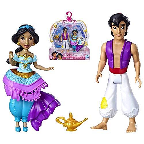 Jasmine & Aladdin Royal Clip Disney Princess Action Figures -
