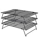 Daixers 3-Tier Stackable Cooling Rack,Baking Racks 16x 10 Inch
