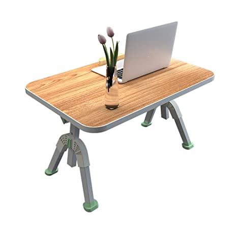 Gjrff Mesa Plegable Mesa De Escritorio Laptop Mesa Dormitorio ...