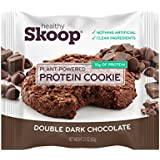 Healthy Skoop Protein Cookie, Double Dark Chocolate, 12 Count