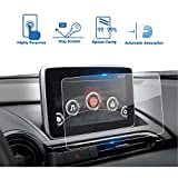 2016-2017 Mazda CX-3 MX-5 7-Inch MZD CONNECT Car Navigation Screen Protector, LFOTPP Clear TEMPERED GLASS Infotainment Display In-Dash Center Touch Screen Protector
