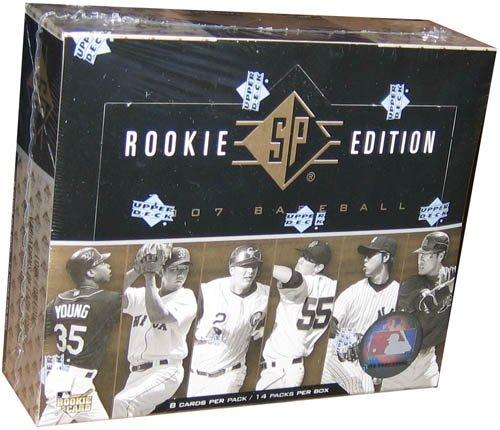 (2007 Upper Deck SP Rookie Edition Baseball Hobby Box)