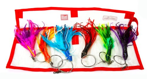 Boone Dolphin Rig Kit (Pack of 6) (Best Bait For Dolphin Fish)