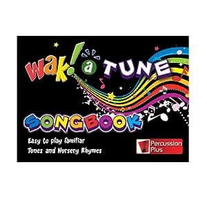 Wak-A-Tune - Libro de canciones para tubos de percusión Wak-A-Tubes (edición en inglés)
