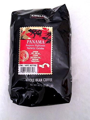 Kirkland Signature Panama Limited Edition Whole Bean Coffee -2 Lbs