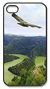 iPhone 4 4s Cases & Covers - Serbia Scenery Custom PC Soft Case Cover Protector for iPhone 4 4s - Black